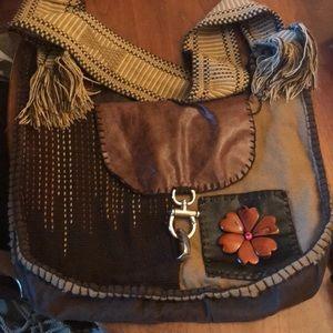 Handbags - Handcrafted Hippy Shoulder Bag